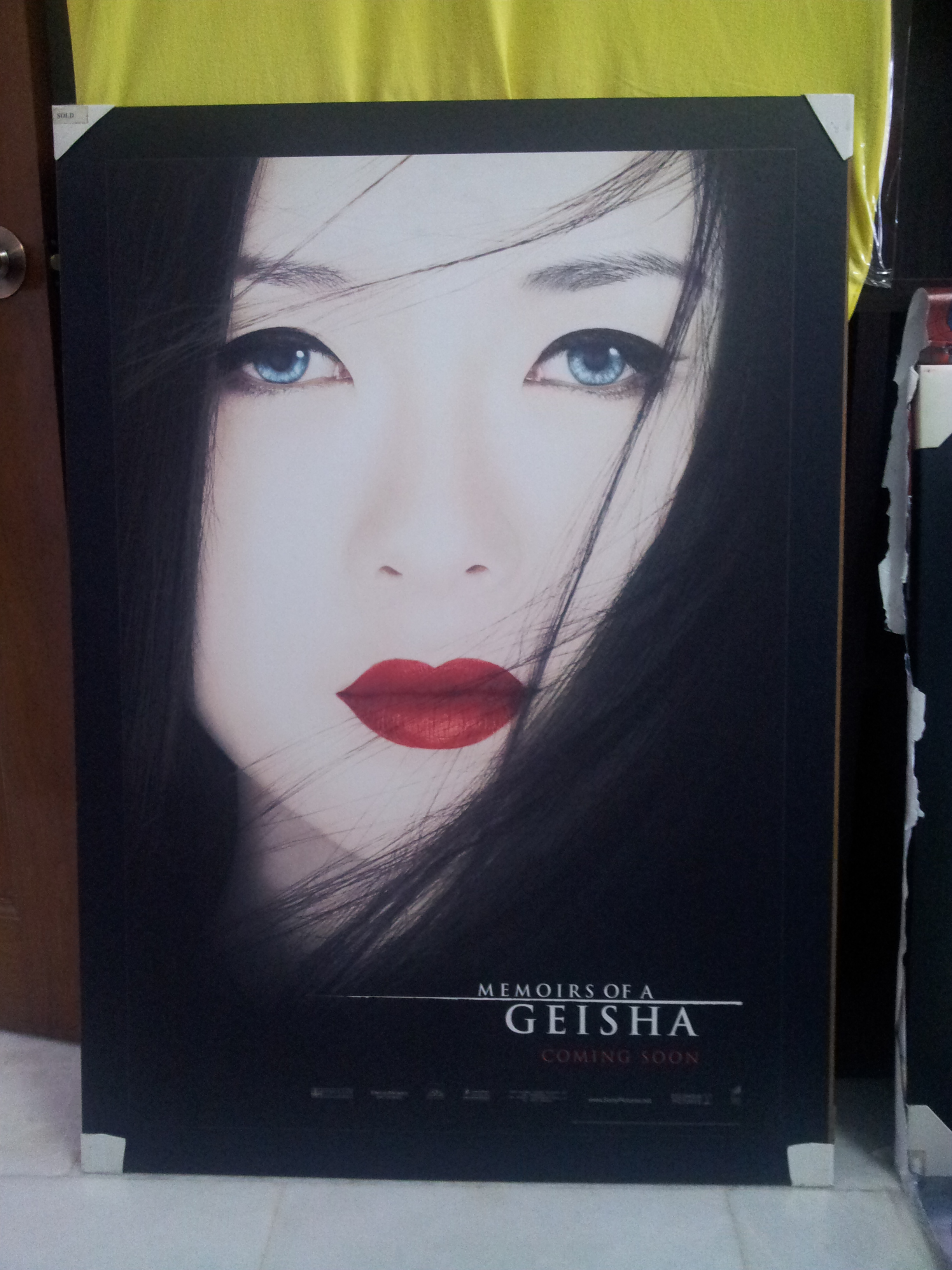 movie poster memoirs of a geisha makoh